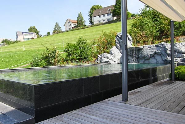 natursteinpool schwimmbad egli gartenbau ag uster. Black Bedroom Furniture Sets. Home Design Ideas